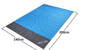 Esterilla alfombra de playa