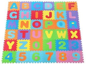 Suelo goma eva abecedario