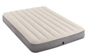 Colchón hinchable gris blanco barato