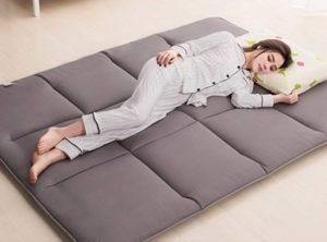 Colchón plegable ergonómico tamaño grande