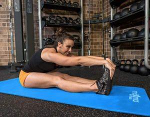 Colchoneta para ejercicios delgada modelo estándar