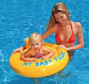 Colchoneta flotador de seguridad infantil