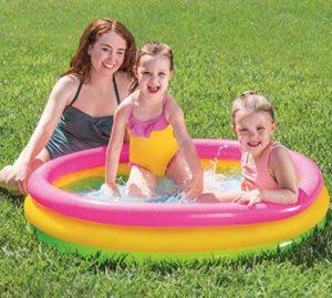 Piscina inflable para niños basica y barata