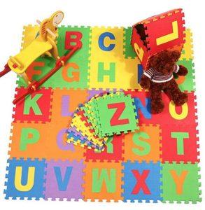 Modelo barato de suelo puzzle para bebés gome ave